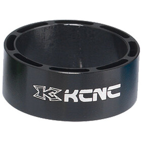 "KCNC Hollow Design Headset Spacer 1 1/8"" 3/5/10/14/20mm, black"